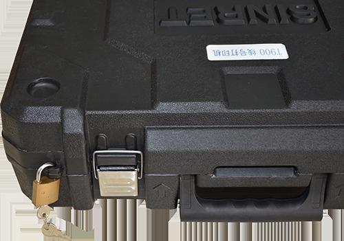 手提箱锁扣细节展示
